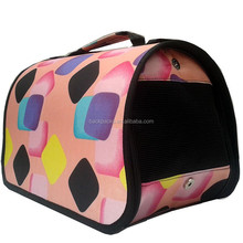 Modern pet products,pet dogs cats carrier bag for small&medium dog pet travel carrier bags folding portable pet package