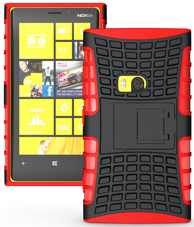 Armor Heavy Duty Hard Cover Case For Nokia Lumia 920 Tough Hard Case PC+TPU Shockproof