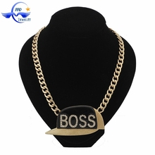 wholesale High Quality New Model Fashion Popular Trendy Hip Pop Chain Necklace