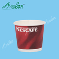 Compostable disposable pla coated paper coffee cup