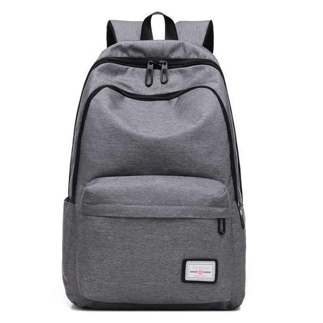 Cheap stylish fashion canvas backpack