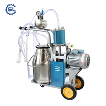 Small Farm cow milking machine factory price