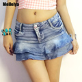 New summer Korean tide sexy nightclub hipster jeans shorts shorts was thin women in Europe and America nightclub