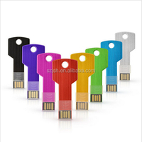 Free Sample Key Shape 2.0 USB Flash Stick With Low Price For Promotion