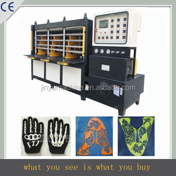 high frequency professional sport vamp making equipment with safty cover