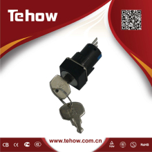 High quality Key Lock Pushbutton Switch
