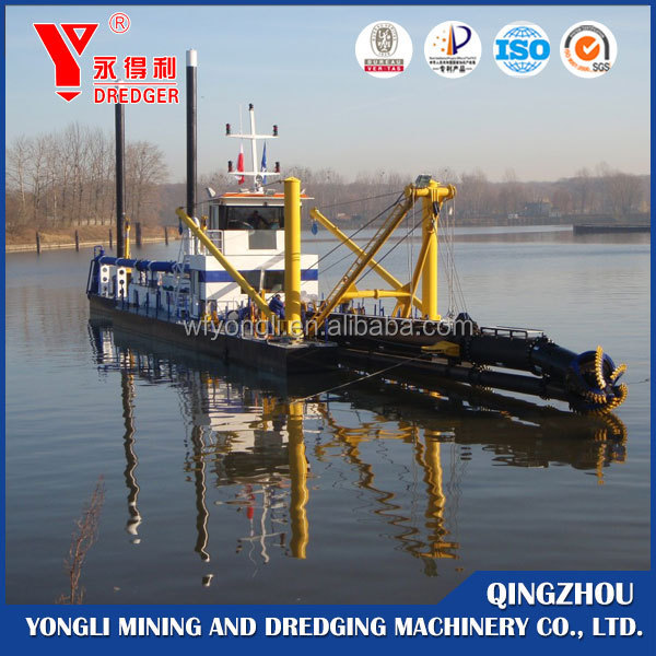 China Supplier Qingzhou Yongli 12 Inch Widely Used Cutter Suction Dredger Type and Electric Power Type Dredger for Sale
