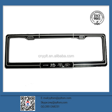 european number plate frame lighted license plate frame