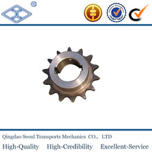"ANSI standard sprocket wheel 11tindustrial conveyor hardened chain finished bore sprockets 1""x17.02 for 16B-1"