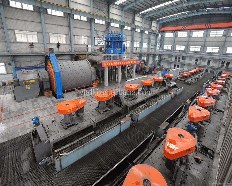 Copper ore flotation processing plant for sale