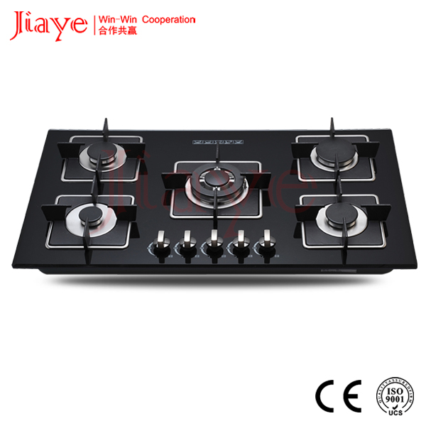 Thermador gas cooktop 5 burners gas stove,powerful gas hob, gas or ceramic hob JY-G5026.