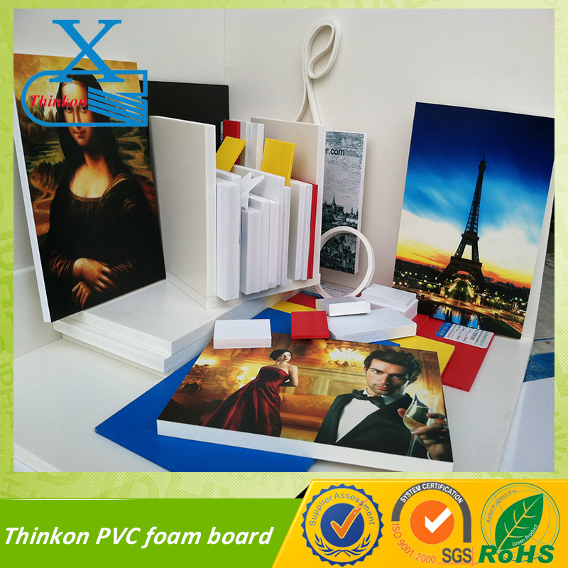 pvc sheet for photo album high density co-extrusion pvc foam board manufacturer