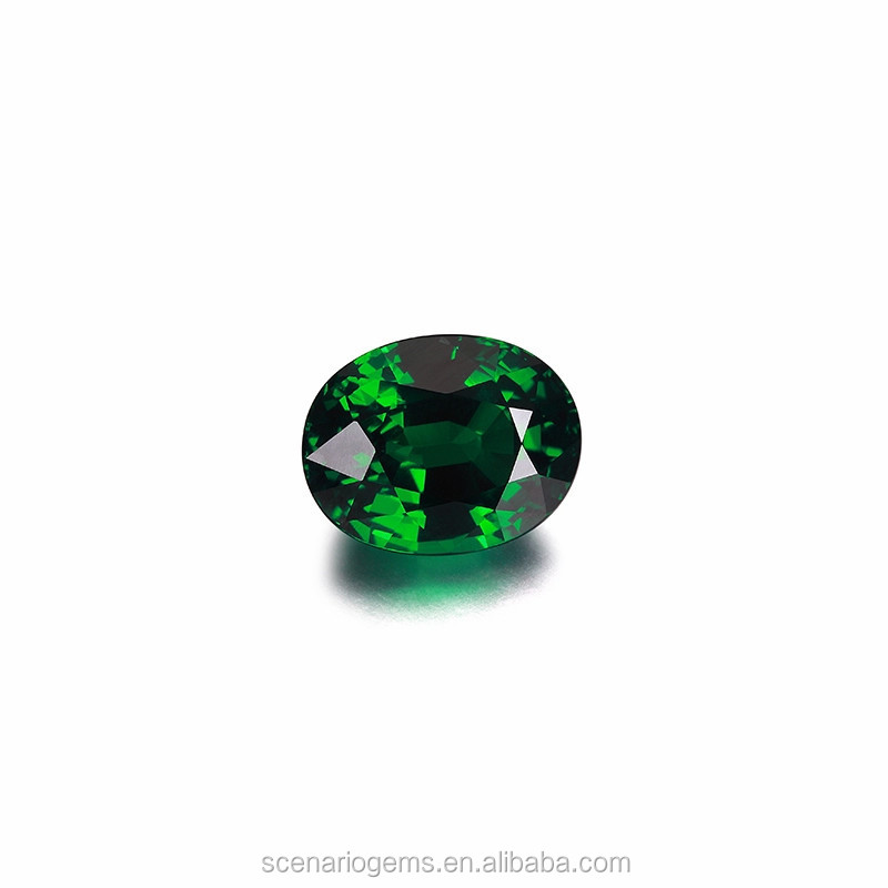 Deluxe Color Tsavorite Cut Stones