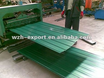 galvanized steel shingle sheet