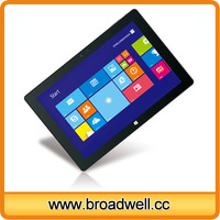 High Quality 10 inch Intel Z3735D CPU IPS Screen 2GB Memory Windows 8 Mini Laptops Touch Screen With Bluetooth