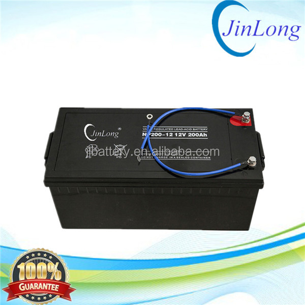 12v 250ah recharge storage battery with long service life