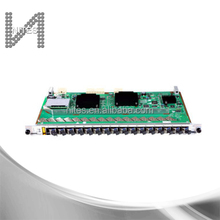 16 ports OLT GPON board GPFD for Huawei MA5600T, MA5680T or MA5683T OLT, with 16 SFP modules