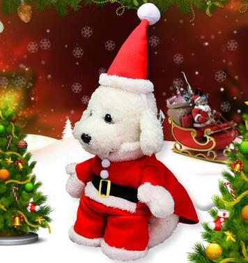 Santa Claus pet clothes Holiday toys Christmas decorations