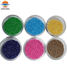 Chemical stability reproducible PP PE ABS PVC PS HDPE plastic pellets colors masterbatch supplier