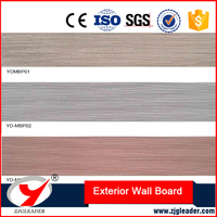 Color Coating Series mini brick pattern Wood fiber cement siding