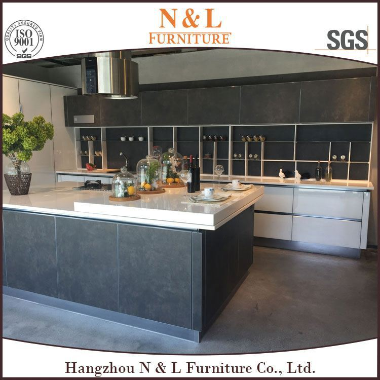 china supplier Sale! prefab homes European style modern flat pack kitchen / ready made kitchen cabinet, solid wood door