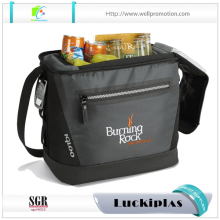 U shape top opening custom brand wholesale thermostat bag cooler bag