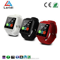 2015 Luxury bluetooth speaker led smart watch U8 watches men women support android mobile phone