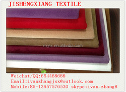 Jishengxiang textile 100% Polyester Warp Knitting Burnout Burn Out Fabric Velboa/Velvet T/C Backing Sofa Fabric