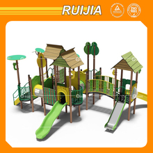 Ruijia children super tube slide playground outdoor on the sale