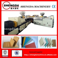 High quality PVC foamed sheet/board/decoration board production line