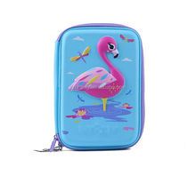 Beautiful Swan 3D Pencil Case EVA Hardtop Large Pencil Box For Girls With Compartment,YX-17565