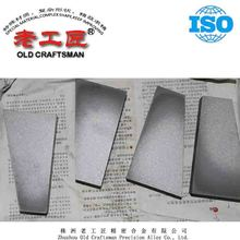 Tungsten cemented carbide wear resitant plate for chute liner