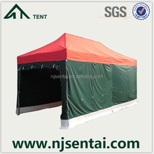 outdoor restaurant tent for night catering