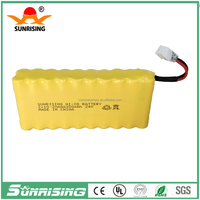 24V NI-CDaaa300 rechargeable battery pack
