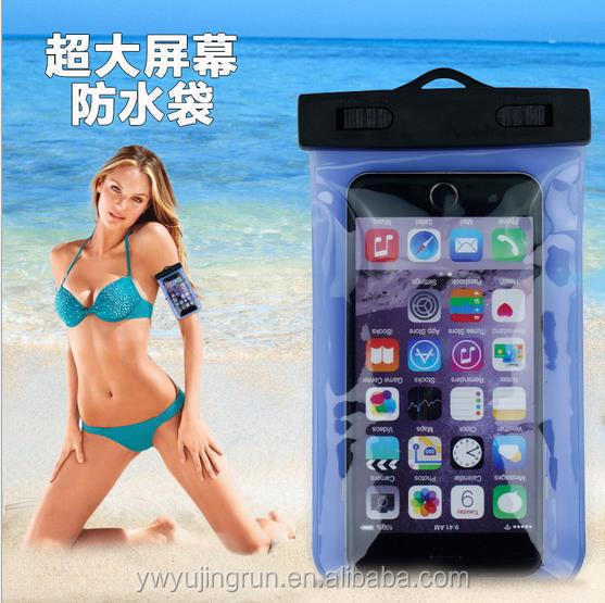 Transparent waterproof bag phone waterproof arm with a Fitness riding sport armband running arm band bag