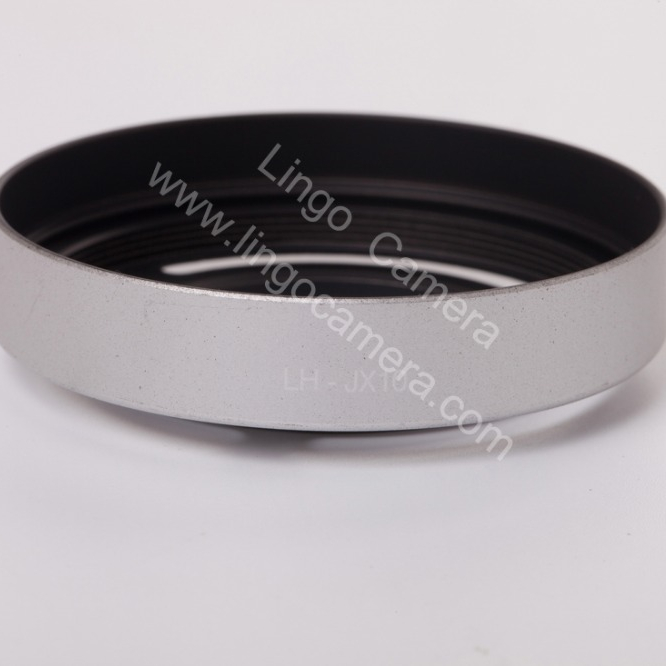 LC4104 Silver Professional Replacement Lens Hood LHX10 for Fuji <strong>X10</strong> X20 X30 Digital <strong>Camera</strong>