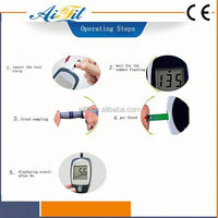 Glucometers and glucometer strips