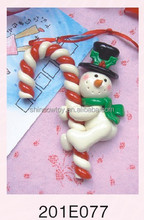 Fashional Style Cheap polymer clay Pendant christmas cane & umbrella handle Pendant