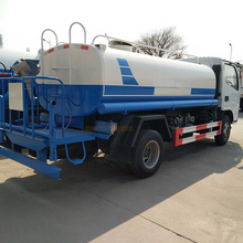 Dongfeng Stainless Steel Used Mini 4000 liter Water Tank Truck for sale