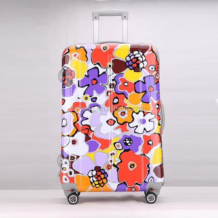2017 New ABS+PC Material High Quality Aluminum Trolley Lugagge Sets,Rolling Luggage With Spinner Hardcase, Factory Wholesale