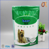 Pet food plastic stand up pouch plastic pet food packaging bag