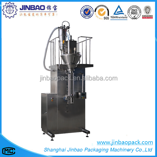 Automatic food grade flour auger filling machine powdered food packing machine