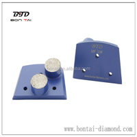 Concrete Grinding Diamond - Double Button - Soft Bond - 30 Grit - Lavina Quick Change Compatible