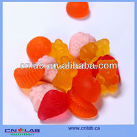 factory supply fruit shaped gummy candy products