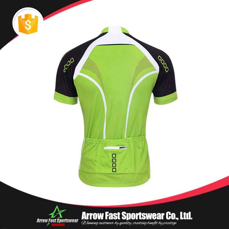 Colorful biking racing wear