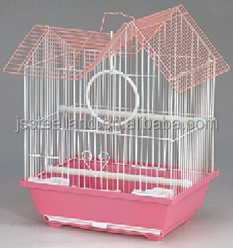 transparent plastic pan folded beautiful small wire bird cages