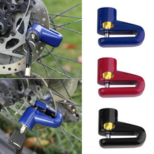 Anti-theft Disk Disc Brake Rotor Lock For Scooter Bike Bicycle Motorcycle SafetyLock For Scooter Motorcycle Bicycle SafetyEQB470