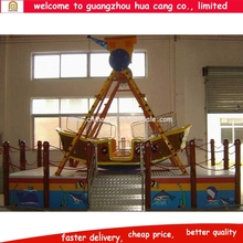 China amusement park indoor brown small pirate ship for sale