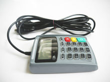 PCI 3.0 Black Color programmable E-Payment Pinpad with magnetic stripe reader --E4020N