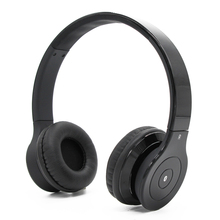 China manufacturer high end noise cancelling wireless black foldable bluetooth headphone